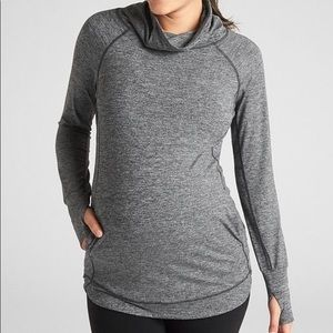 Gap Fit Maternity | Breath Cowl-neck Pullover
